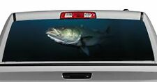 Truck Rear Window Decal Graphic [Fishing / Monster Bass] 20x65in DC78809