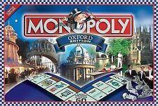 Hasbro Monopoly Oxford Edition Board Game 2001 Complete