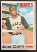 1970 Topps ROBERTO CLEMENTE #350 Pittsburgh Pirates Hall of Fame HOT!