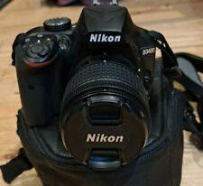 Nikon D D3400 24.2 MP Digital SLR Camera - Black (Kit w/ AF-P VR 18-55mm Lens)