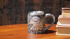 New Eagle 3D Double Wall Mug Coffee/Tea/Beer Mug/Cup 11 Oz Mug Stainless Steel