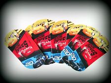 Cars- 8 Paper Dog tags- Party Favor Loot  Toys Prizes tag