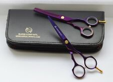 "5.5"" Salon Professional Barber Haircutting Scissors Hairdressing Thinning Set"
