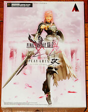 "FINAL FANTASY XIII-2 PLAY ARTS KAI NO.1 SQUARE ENIX LIGHTNING 8"" ACTION FIGURE"