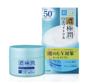 "Rohto Hada-labo Koi Gokujyun UV White Gel ""All-in-One"" SPF50+ PA++++ 90g Japan"