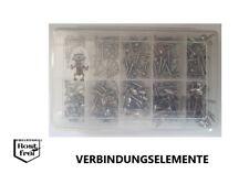 Blechschrauben Sortiment/Set 250 Teile DIN 7981 FLANSCH EDELSTAHL A2 Ø 2,9-3,5