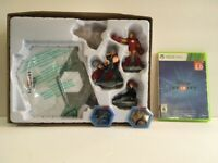 Xbox 360 Disney Infinity Marvel Super Heroes 2.0 Edition Starter Pack Bundle