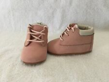 Timberland Infant Baby Girls Pink Crib Boots~size 2 M