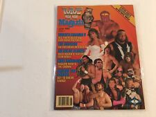 WWF Magazine 1989 June WrestleMania V All The Results and Explosive Pictures WWE