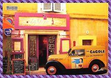 Tarjeta Postal AUBAGNE 1 calle de l'aumône vieja restaurantes Postal- La vid