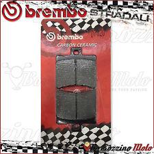 PLAQUETTES FREIN ARRIERE BREMO CARBON CERAMIC APRILIA SCARABEO GT 125 2002