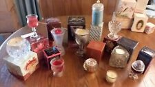 vintage avon perfumed candle holders