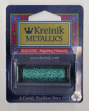 Kreinik Blend - 55Yd Spool of #029 Turquoise Metallic Blending Filament