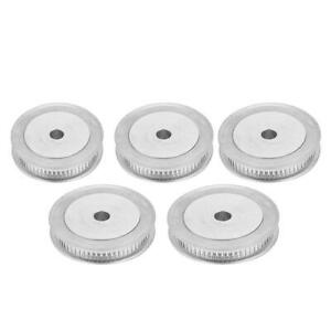 2GT 60 Teeth Timing Pulley Bore 5mm-12mm For Timing Belt Width 6mm + Hex Wrench