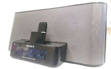 Bluetooth enabled Sony Dream Machine ICF-C1iPMK2 Speaker Dock Radio iPod iPhone