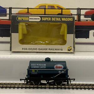 Wrenn Railways Works With HORNBY W5039 ESSO PETROL WAGON TANKER (63)