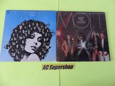 Mott the Hoople the hoople / mott - Lot 2 LP - LP Record Vinyl Album 12""