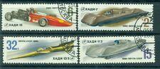 Russie - USSR 1980 - Michel n. 4982/85 - Voitures de course soviétiques