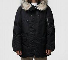 MENS NANAMICA HABOR DOWN BLACK COAT (SA2) RRP £964.99