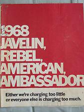 AMC range brochure 1968