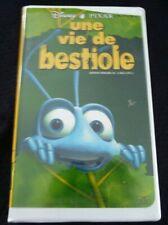 VHS French Movie Une Vie de Bestiole ! Walt Disney Pixar Pictures