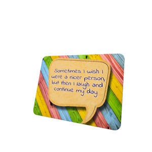 Funny Quotes Mouse Mat