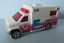 FAB VINTAGE 1996 MATCHBOX AMBULANCE 5 ALARM DIE CAST VEHICLE