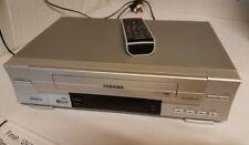 Toshiba VHS VCR Video Nicam Digital Stereo Model V631UK in Remote Control.