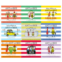 Angela Banner Collection Ant and Bee the Secret Go Shopping ABC 9 Books Set NEW