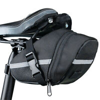 Bicycle Storage Saddle Bag MTB Bike Seat Cycle Rear Pouch Bags Outdoor Portable