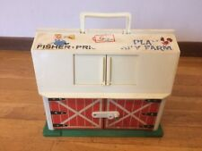Vintage Fisher Price Little People Play Family Farm Barn #1 of 2