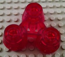 LEGO Translucent Red Electric Light and Sound Space Rocket Engine Nozzles