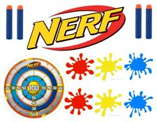 A4 CREATE YOUR OWN NERF CAKE 1 EDIBLE WAFER/RICE FONDANT PAPER CAKE TOPPER