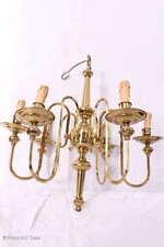 Zauberhafter 6 Armige Deckenlampe Chippendale Kronleuchter Goldfarben Kerzenleuc