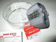 Miss Sixty SIC005 (35mm) Armbanduhr Defekt mit original Beutel und Anleitung