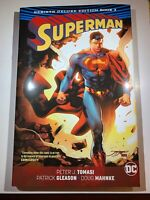 Superman Deluxe Rebirth Book 3 DC Comics Tomasi Hardcover