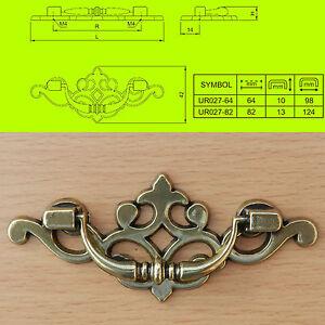 Chest/lifting handles vintage/RetroTrunk blanket box Cupboard Cabinet drawer R27