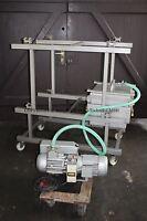 Edelstahl Wurstpresse mit Vakuum, Vakuumpresse, Presse für Wurst o.ä.