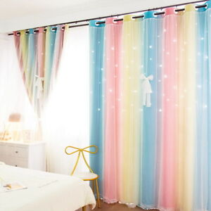 Dream Heavy Thick Thermal Blackout Curtains Eyelet Ring Top Pair + Tie Backs UK
