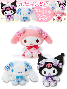 JAPAN Sanrio Store Uniformed Maid Series plush Limited cinnamoroll/melody/kuromi