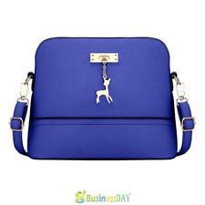 Chic Women PU Leather Shoulder Bag Tote  Messenger Crossbody Satchel Bag Handbag