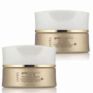 Jafra Gold Dynamics Recover (2 pc set) day Cream SPF 25 & night Cream 1.77 OZ.