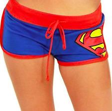 NWT SUPERMAN BOOTY SHORTS DC COMICS size: MEDIUM