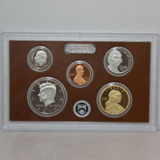 2012 Partial US Mint Silver Proof set 90% Kennedy Dime Nickel Cent - 5 coins
