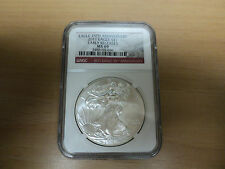 2011 25th Anniversary Silver Eagles NGC MS69