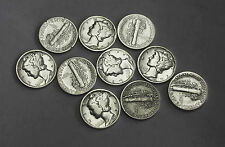 1931-p Mercury Head Dime.Average Grade of Coin You Will Receive is Photographed