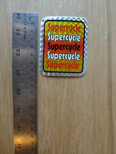 VINTAGE BIKE BICYCLE SUPERCYCLE STICKER CCM BMX NOS