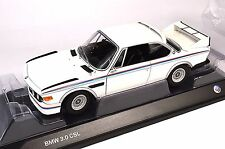 BMW 3.0 CSL 1973-1975 MINICHAMPS BMW DEALER HERITAGE COLLECTION 1:18 NEW
