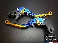 Levier bleu Repliable FOLDING FREIN EMBRAYAGE Honda 600 HORNET 2007-2014
