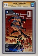 DC's Dark Knight III: Master Race #1 2x Signed Scott's Variant CGC 9.8